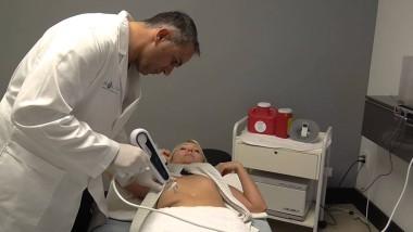 Мезотерапия живота мезоинжектором