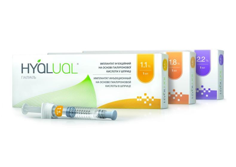 Препараты Гиалуаль для биоревитализации