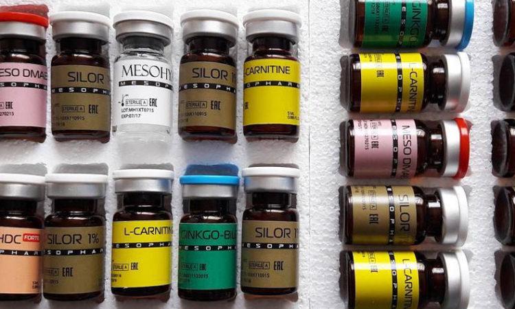 Препараты и коктейли для мезотерапии