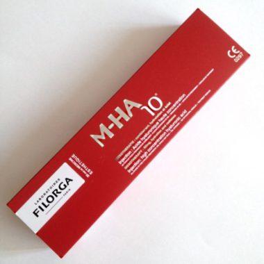 В результате биоревитализации препаратом Филорга M-HA 10 в коже восполняется дефицит эндогенной гиалуроновой кислоты
